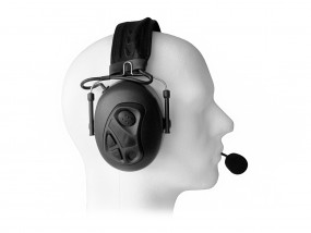 Dual Earmuff Headset for Sepura STP8000/STP9000