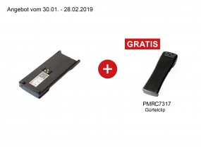 Extra High Capacity Battery Pack Premium+ für Motorola GP/HT/MTS Serie