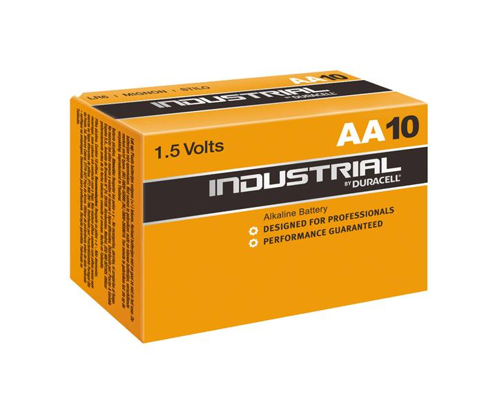 INDUSTRIAL by Duracell Mignon AA Battery (10x)