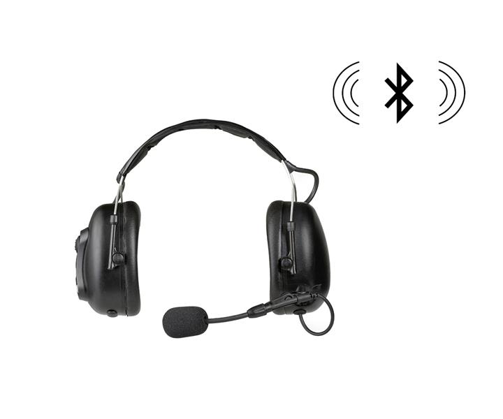 Wireless Dual Earmuff Headset (Bluetooth)