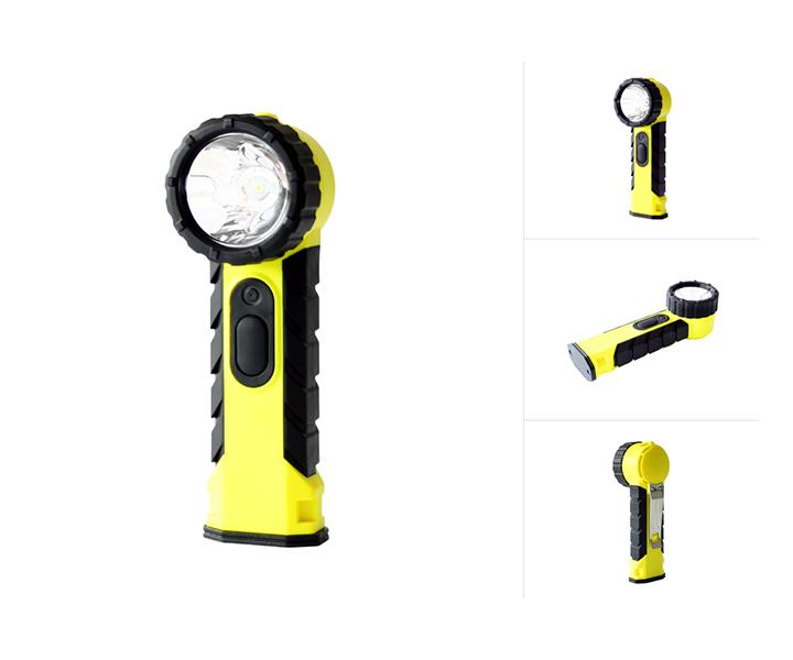 Intrinsically Safe LED Flashlight ATEX