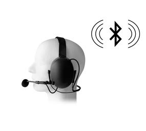 Wireless Earmuff Behind-The-Head Headset (Bluetooth)