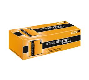 INDUSTRIAL by Duracell 4.5V Flat Battery (10x)