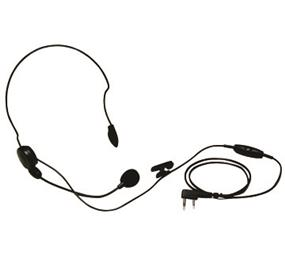 Original Kenwood Lightweight Headset with Microphone & PTT
