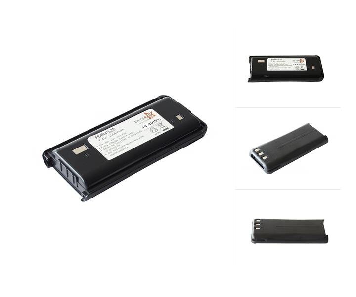 BATSTAR High Quality Battery Pack für Kenwood TK-Serie, Typ: KNB-45L